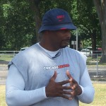Chicago Bears Youth Camp Director Mickey Pruitt