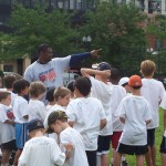 Mickey Pruitt of Chicago Bears Youth Football Camps
