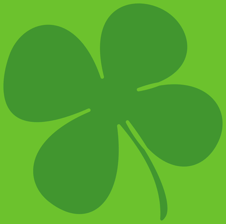 4 Leaf Clover Clip Art