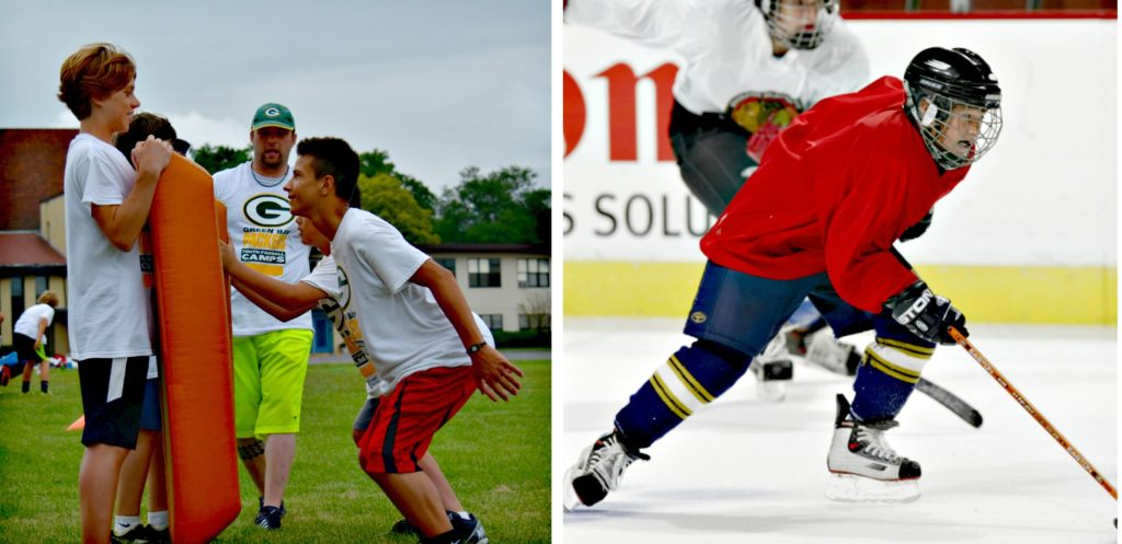 7 Reasons Why Youth Hockey Players Should Play Football Too