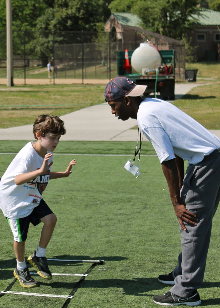 Youth Football Camps of Chicago Bears; Safe-Non-Contact Instruction for kids ages 6-14