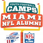 Camps-Summer-Football-NFL-Alumni-Flag-Instruction- Miami Dolphins