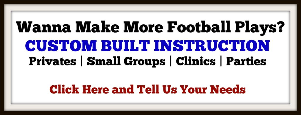 Flag or Tackle Football Training - Pro Sports Experience